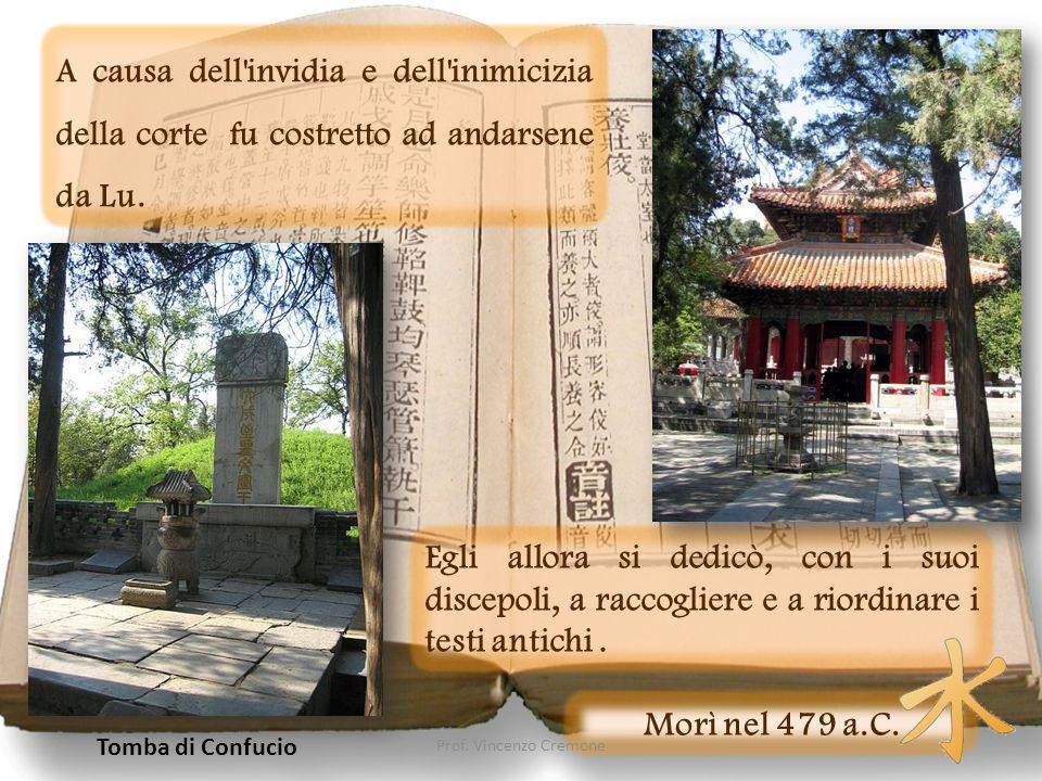 Quattro Libri Tutto quello che ci è pervenuto del suo pensiero è raccolto nei cosiddetti Quattro Libri (Ssu Shu), che sono opera di discepoli.