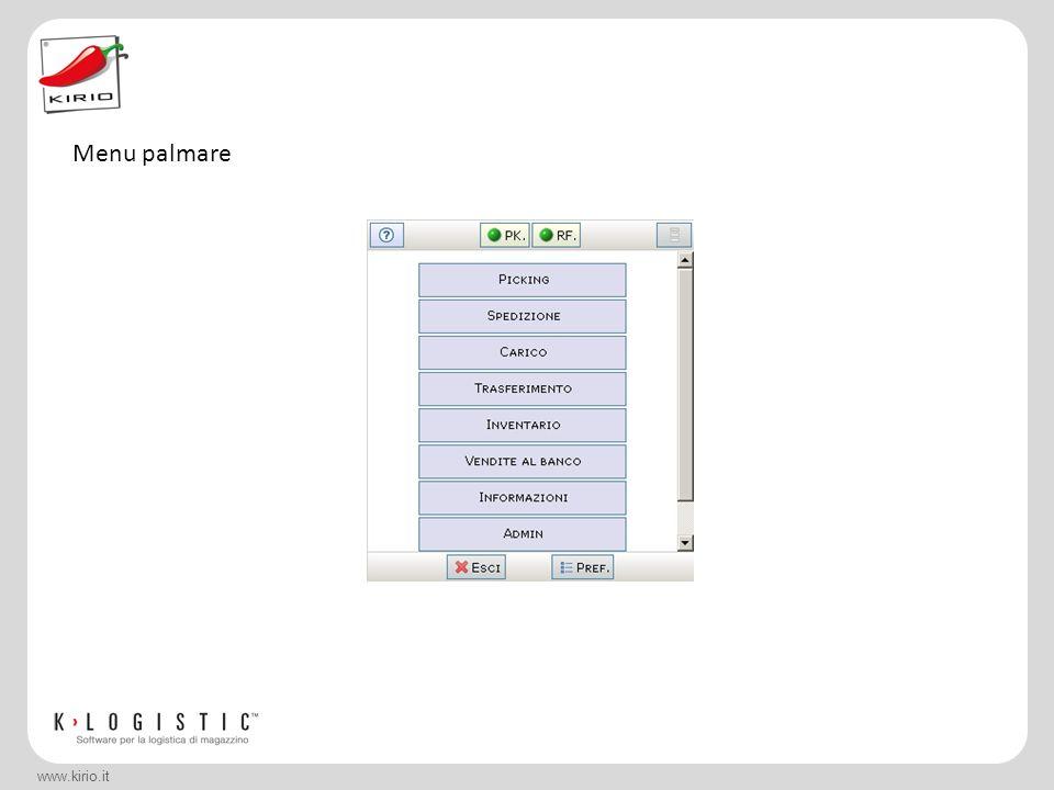 www.kirio.it UN MAGAZZINO PIÙ SNELLO E LE PROSPETTIVE L'azienda è avviata verso la completa automatizzazione delle procedure.