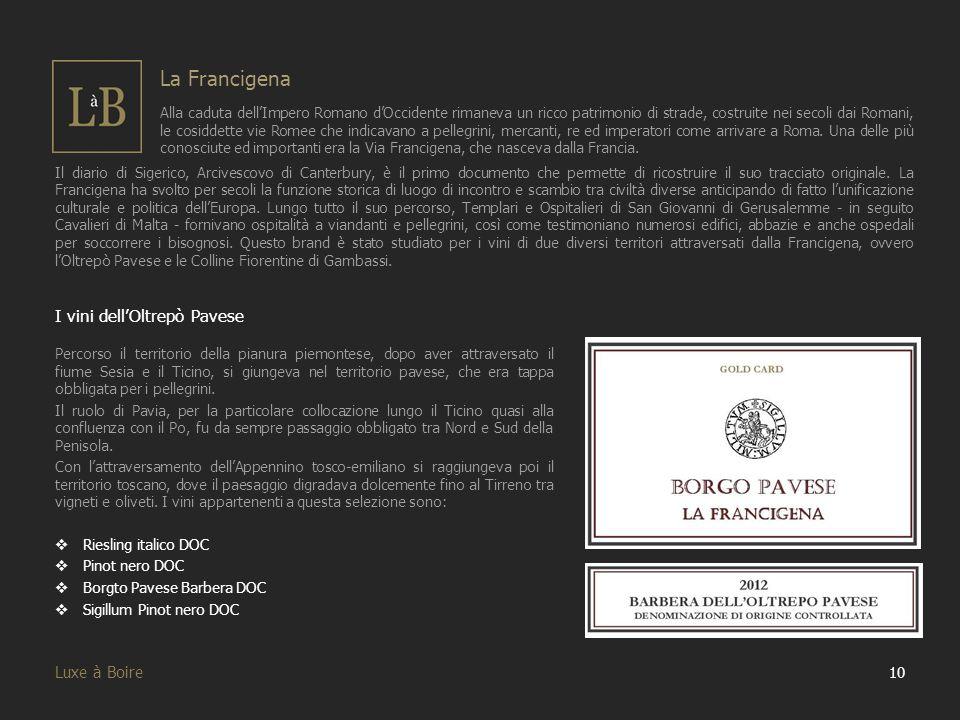 I vini dell'Oltrepò Pavese Percorso il territorio della pianura piemontese, dopo aver attraversato il fiume Sesia e il Ticino, si giungeva nel territo