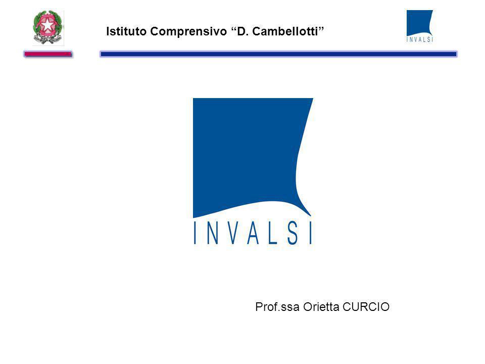 Istituto Comprensivo D. Cambellotti Prof.ssa Orietta CURCIO