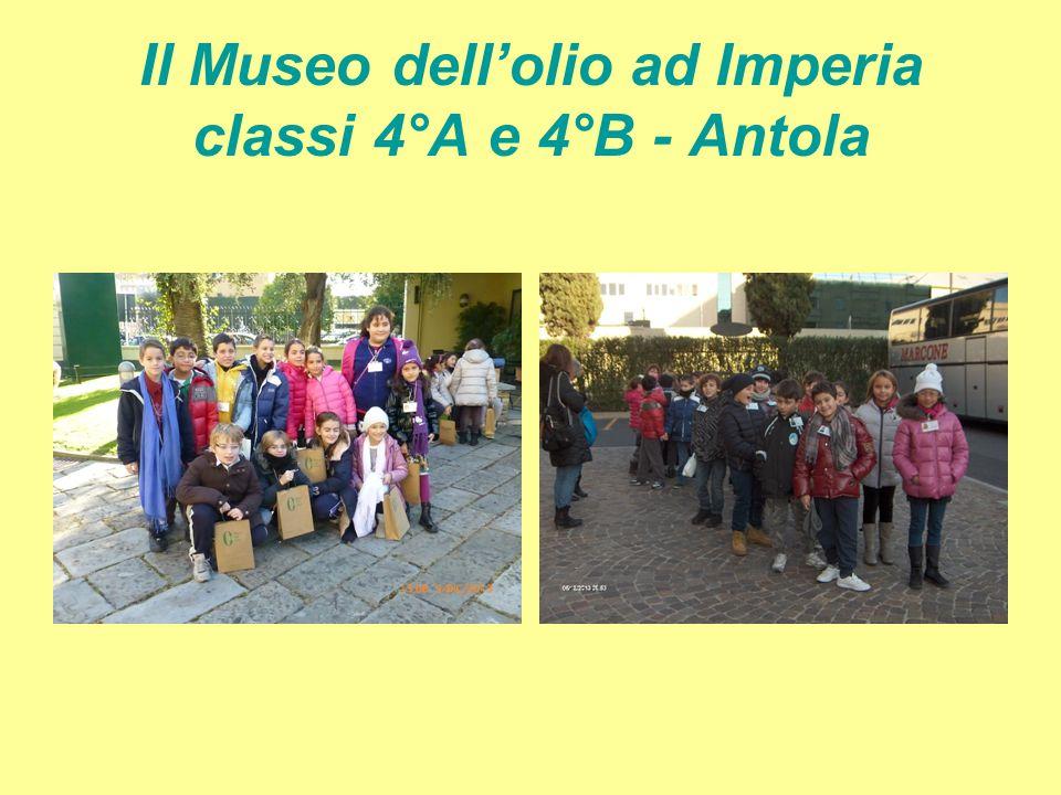 Il Museo dell'olio ad Imperia classi 4°A e 4°B - Antola