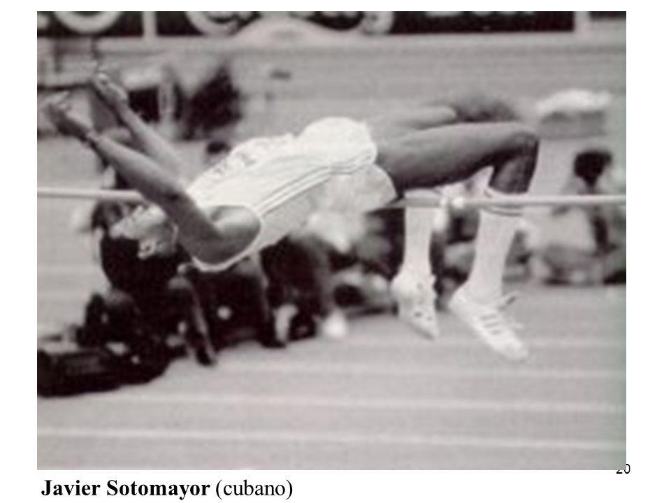 20 Javier Sotomayor (cubano)
