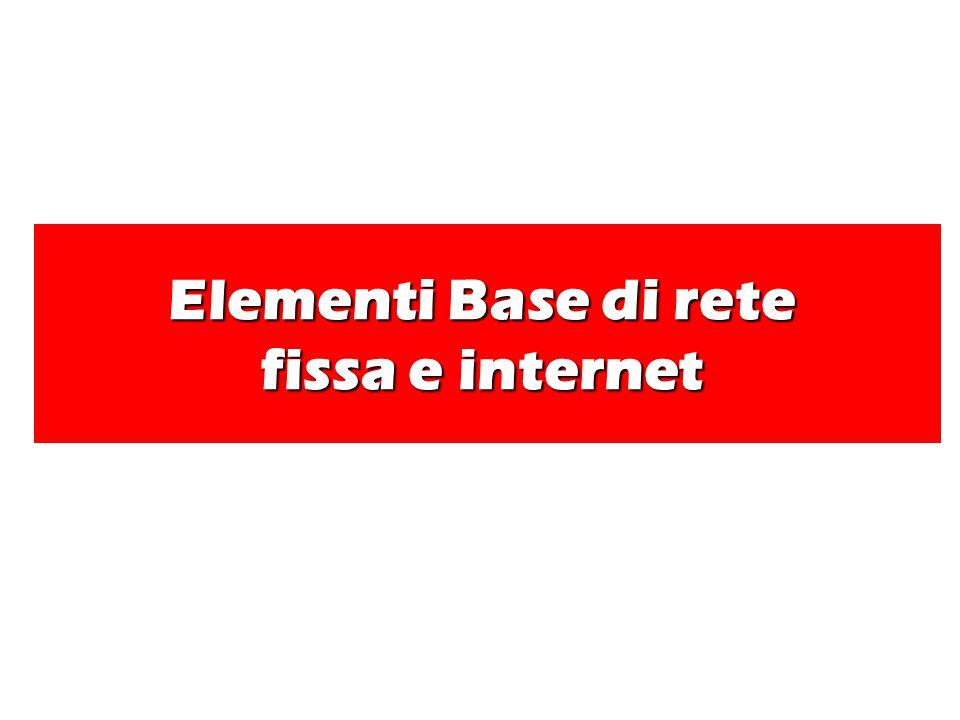 Accessi, rete Per telefonare necessita di una linea telefonica Ogni linea telefonica è collegata alla centrale di quartiere di zona,di provincia ecc…..