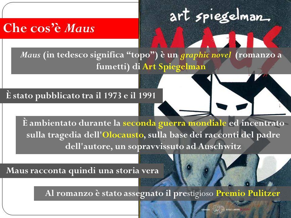 L'autore I personaggi La metafora degli animali Il metafumetto La copertina Clicca sulle voci dentro gli ovali per andare alle schede La struttura narrativa