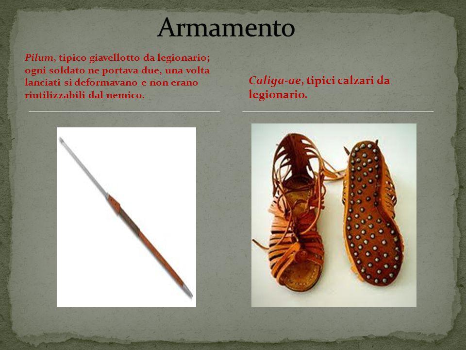 Pilum, tipico giavellotto da legionario; ogni soldato ne portava due, una volta lanciati si deformavano e non erano riutilizzabili dal nemico.