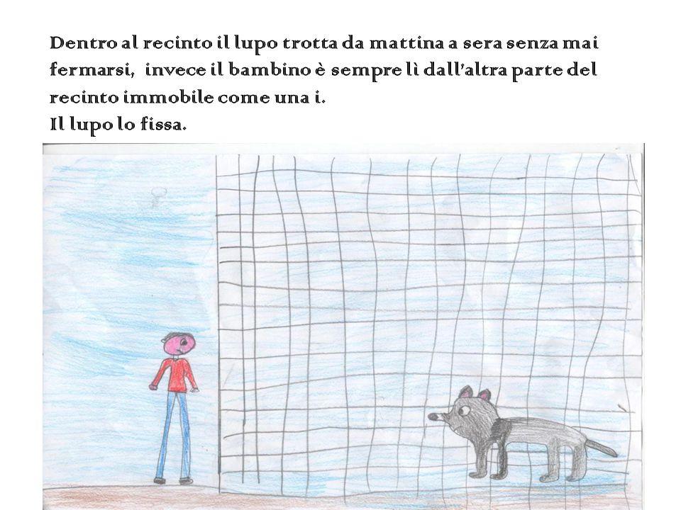 A dieci metri dal ragazzo, dietro grosse sbarre di ferro, La iena dell'Africa Grigia rideva più forte di tutti.