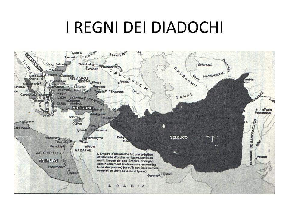 I REGNI DEI DIADOCHI