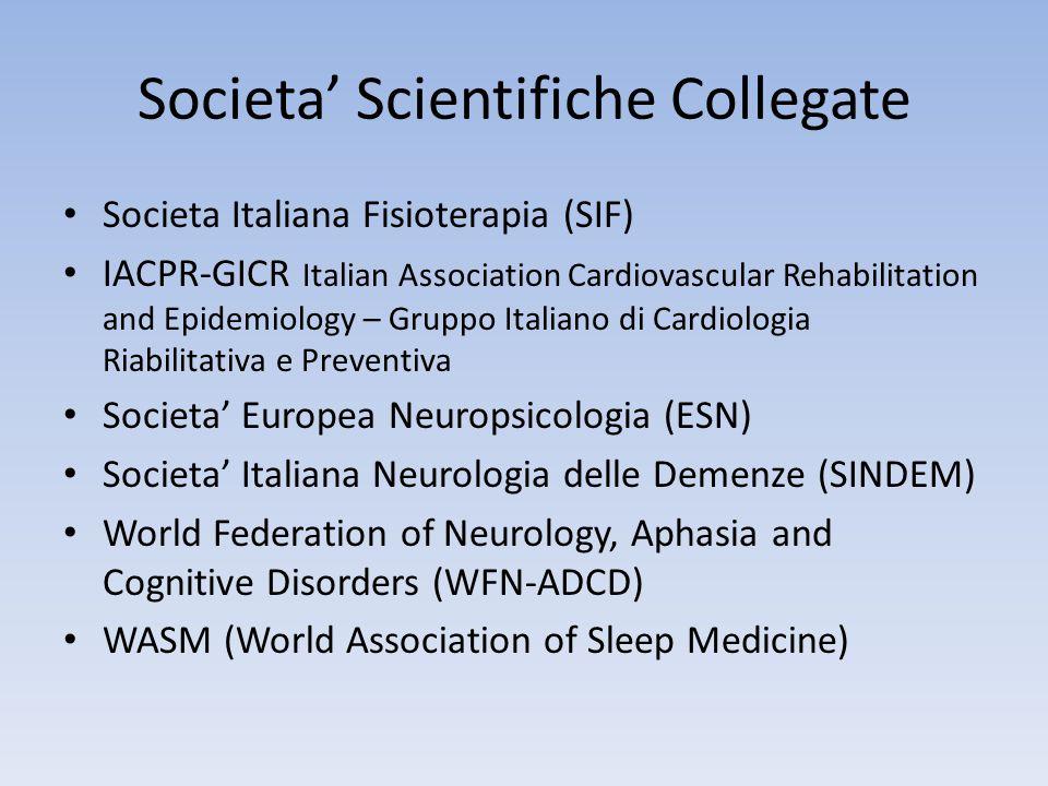 Societa' Scientifiche Collegate Societa Italiana Fisioterapia (SIF) IACPR-GICR Italian Association Cardiovascular Rehabilitation and Epidemiology – Gr