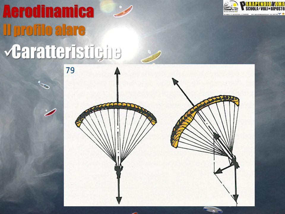 Aerodinamica Caratteristiche Caratteristiche Il profilo alare