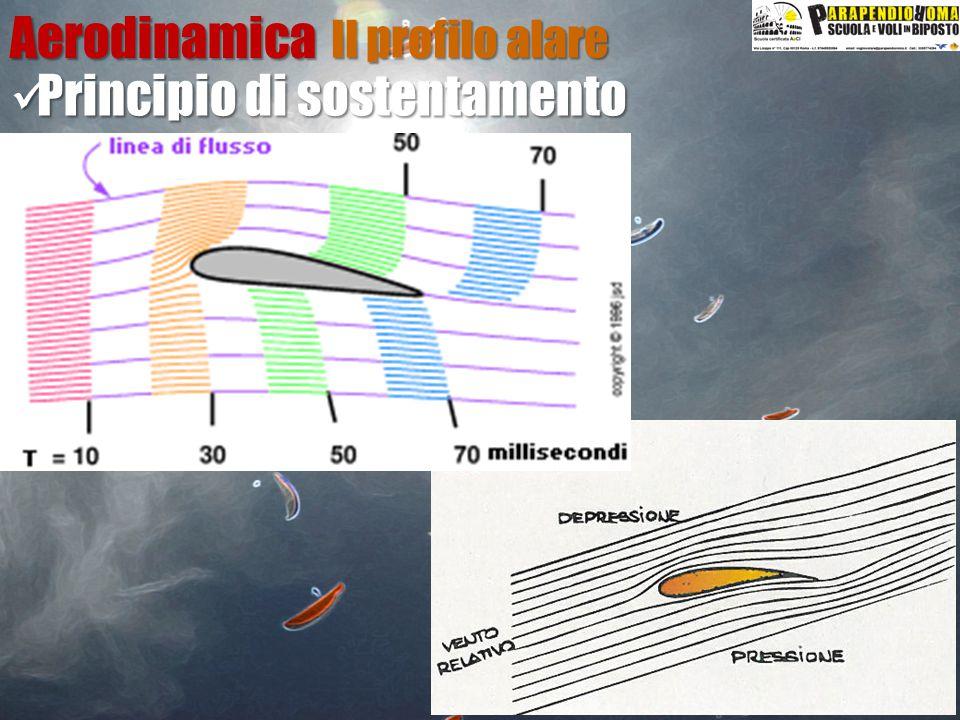 Principio di sostentamento Principio di sostentamentoAerodinamica Il profilo alare