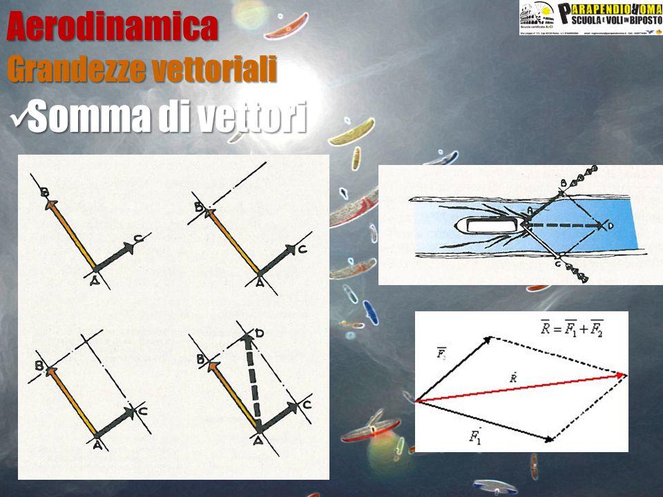 Aerodinamica Il profilo alare P=½C p  V²S Coefficiente di Portanza Coefficiente di Portanza