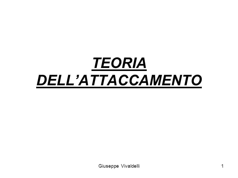 TEORIA DELL'ATTACCAMENTO 1Giuseppe Vivaldelli