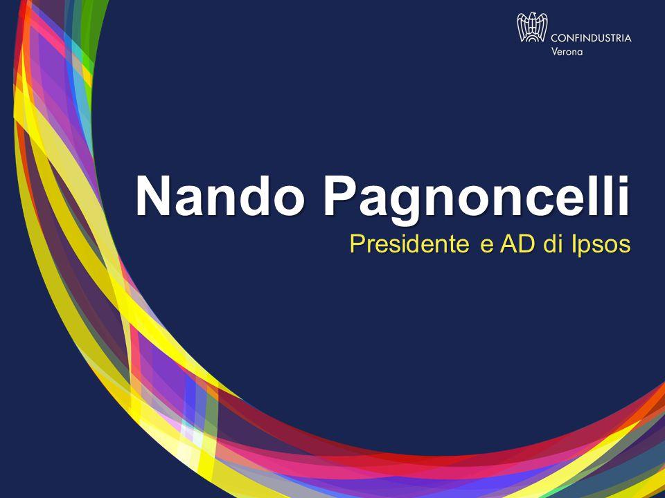 Nando Pagnoncelli Presidente e AD di Ipsos