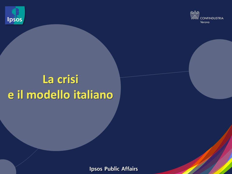 La crisi e il modello italiano