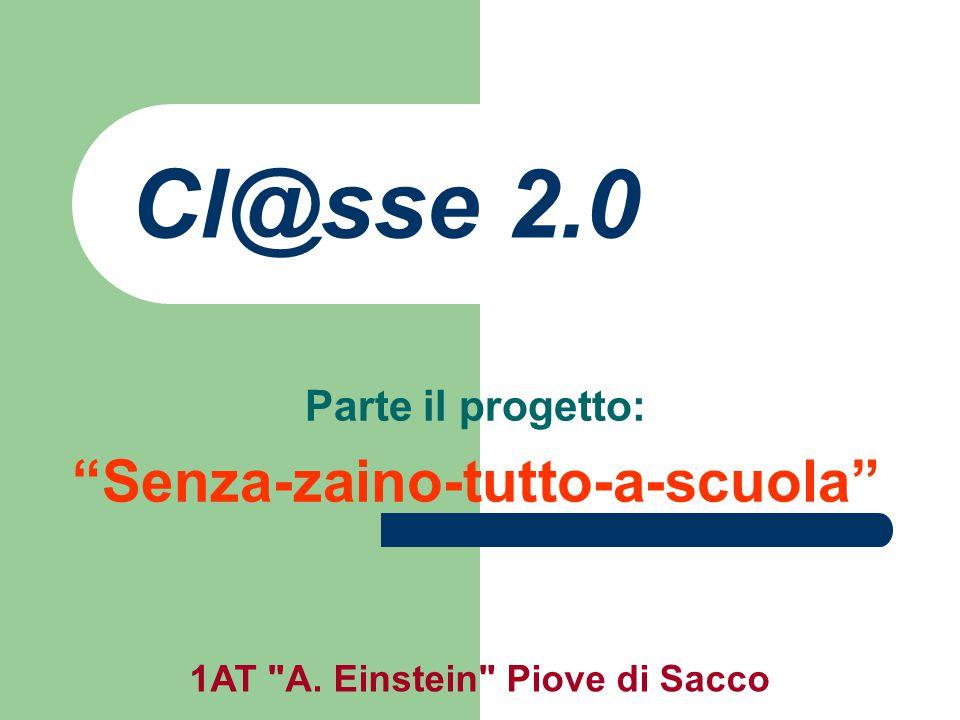 1AT A.Einstein Piove di Sacco E' un progetto bandito dal Ministero della Pubblica Istruzione.