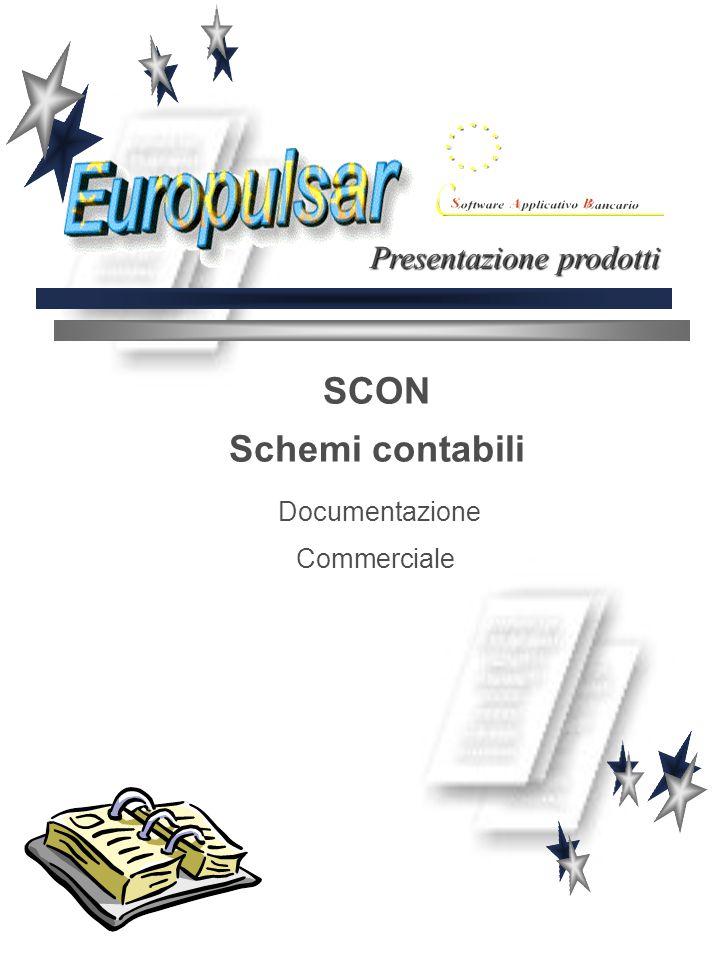 SCON Schemi contabili Documentazione Commerciale Presentazione prodotti