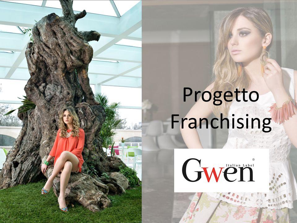 GWEN è un marchio giovane e dinamico che opera nel settore della commercializzazione al dettaglio di calzature donna, accessori moda e capi d'abbigliamento con un'ampia gamma di prodotti in stile e gusto italiano, caratterizzati da un ottimo rapporto qualità/prezzo.