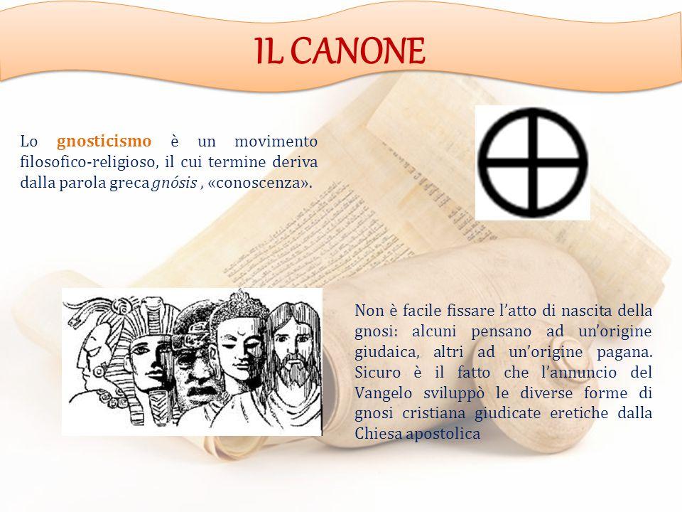 Lo gnosticismo è un movimento filosofico-religioso, il cui termine deriva dalla parola greca gnósis, «conoscenza».