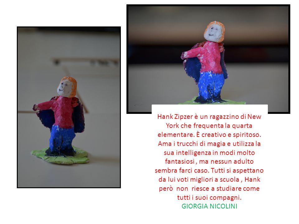 Hank Zipzer è un ragazzino di New York che frequenta la quarta elementare. È creativo e spiritoso. Ama i trucchi di magia e utilizza la sua intelligen