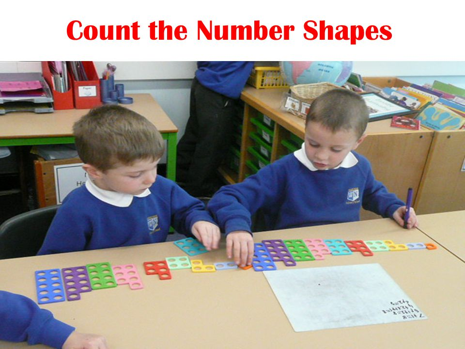 Count the Number Shapes