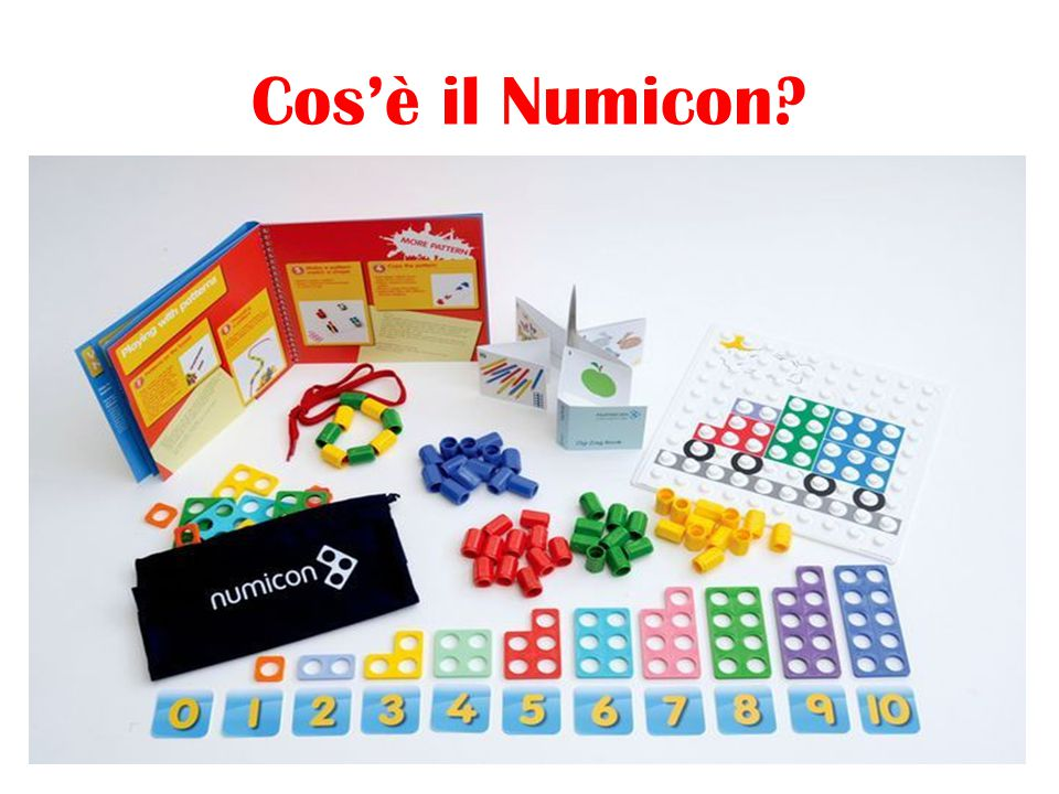 Cos'è il Numicon?