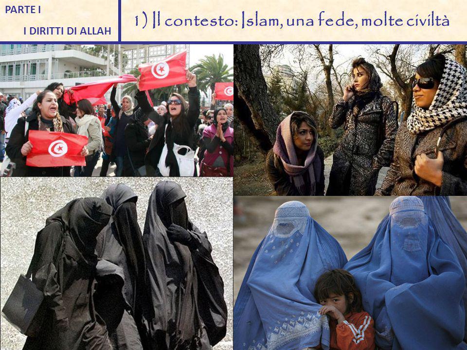 PARTE I I DIRITTI DI ALLAH 1) Il contesto: Islam, una fede, molte civiltà