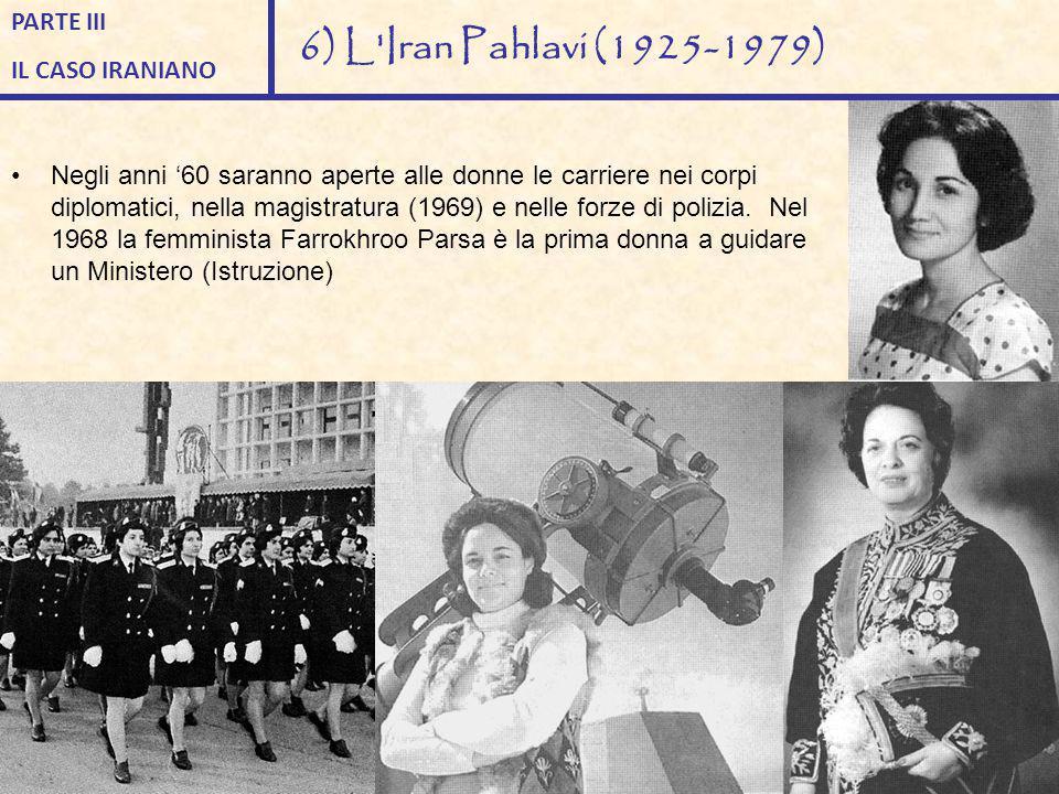 Negli anni '60 saranno aperte alle donne le carriere nei corpi diplomatici, nella magistratura (1969) e nelle forze di polizia. Nel 1968 la femminista