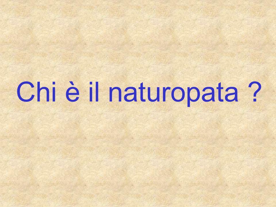Chi è il naturopata ?