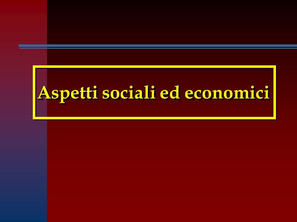 Aspetti sociali ed economici