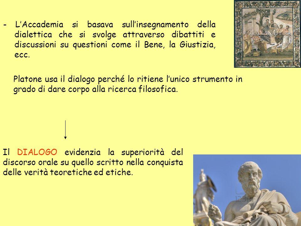 L'attività letteraria di Platone è suddivisa in: - Primo periodo (scritti socratici): Apologia, Critone, Gorgia, Protagora, Eutidemo, Cratilo, ecc..
