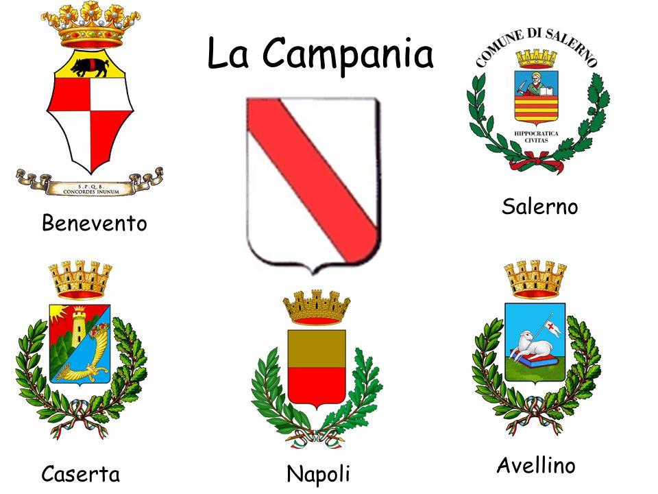 La Campania Napoli Salerno Avellino Benevento Caserta