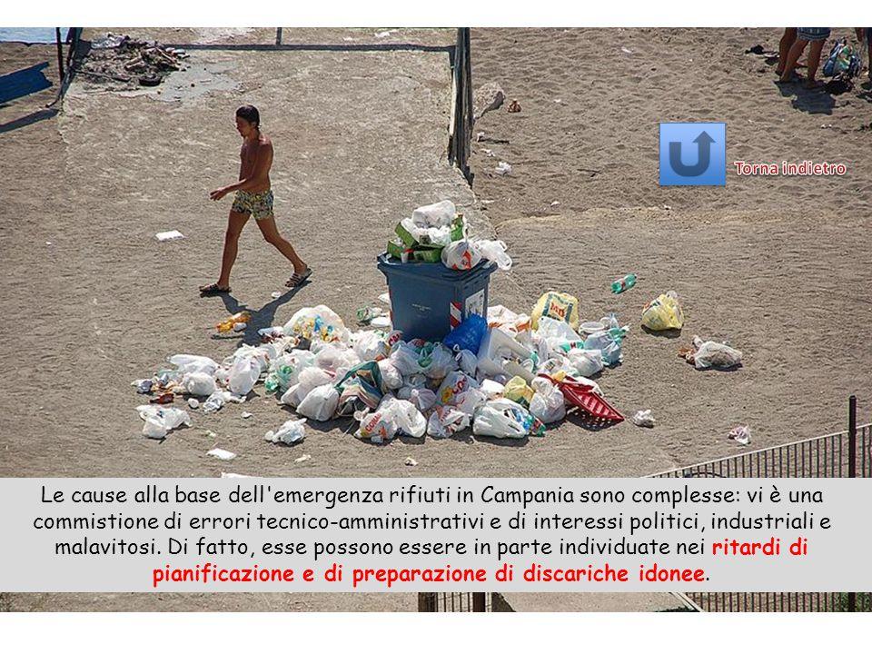 La crisi dei rifiuti in Campania è stata uno stato di emergenza relativo allo smaltimento ordinario dei rifiuti solidi urbani (RSU) verificatosi dal 1