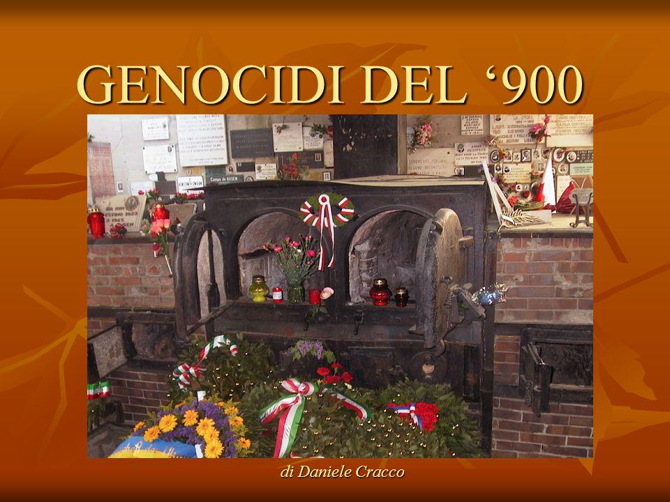 GENOCIDI DEL '900 di Daniele Cracco