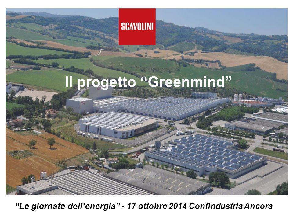 Il progetto Greenmind Le giornate dell'energia - 17 ottobre 2014 Confindustria Ancora