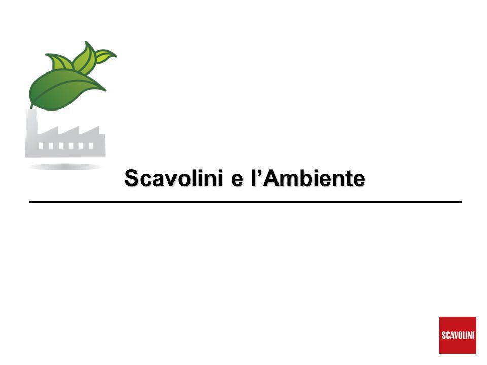 Scavolini e l'Ambiente Scavolini e l'Ambiente