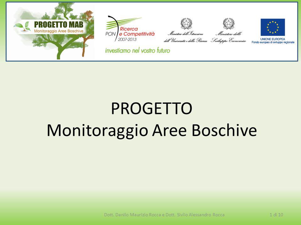 PROGETTO Monitoraggio Aree Boschive Dott. Danilo Maurizio Rocca e Dott. Sivlio Alessandro Rocca1 di 10