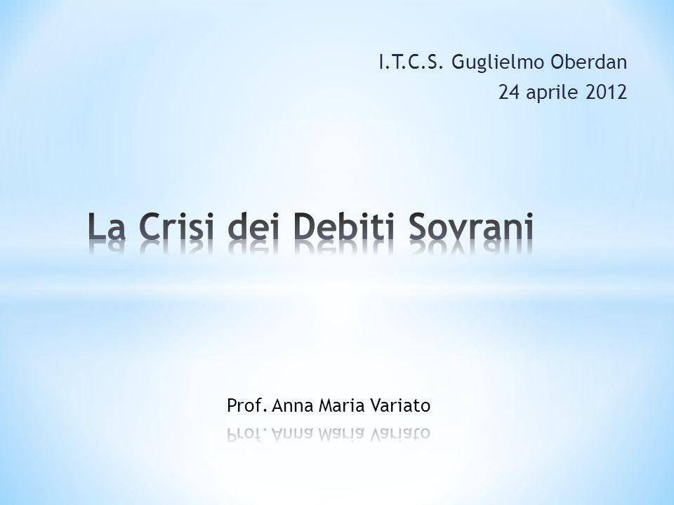 I.T.C.S. Guglielmo Oberdan 24 aprile 2012