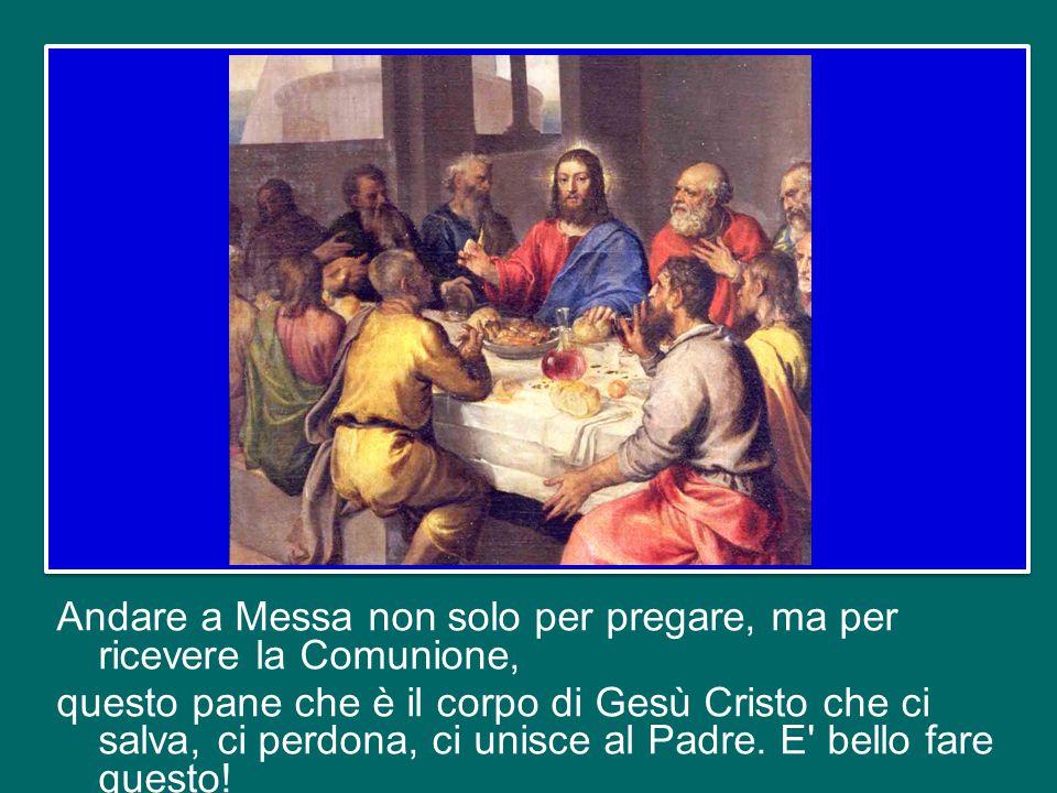 Cari amici, non ringrazieremo mai abbastanza il Signore per il dono che ci ha fatto con l'Eucaristia! E' un dono tanto grande e per questo è tanto imp