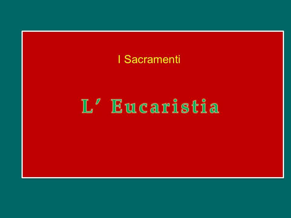 Cari amici, non ringrazieremo mai abbastanza il Signore per il dono che ci ha fatto con l'Eucaristia.
