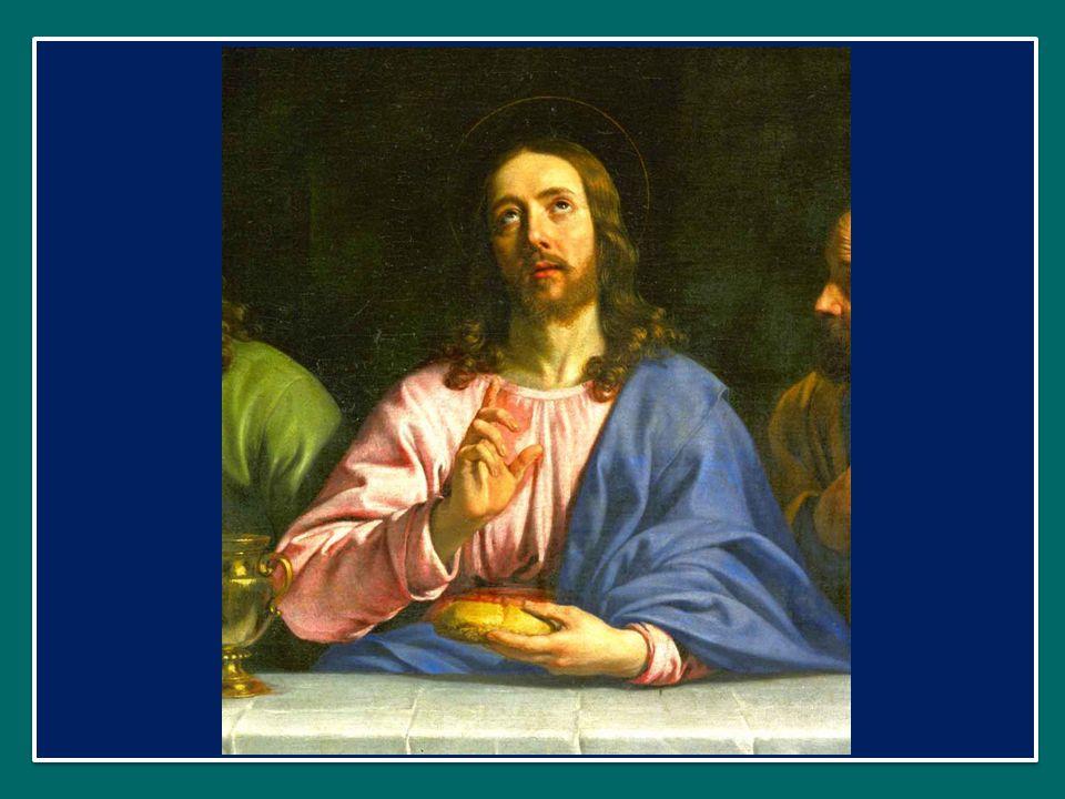 mens impletur gratia: l'anima è ricolma di grazia, et futurae gloriae nobis pignus datur. Alleluia. e ci è dato il pegno della gloria futura. Alleluia