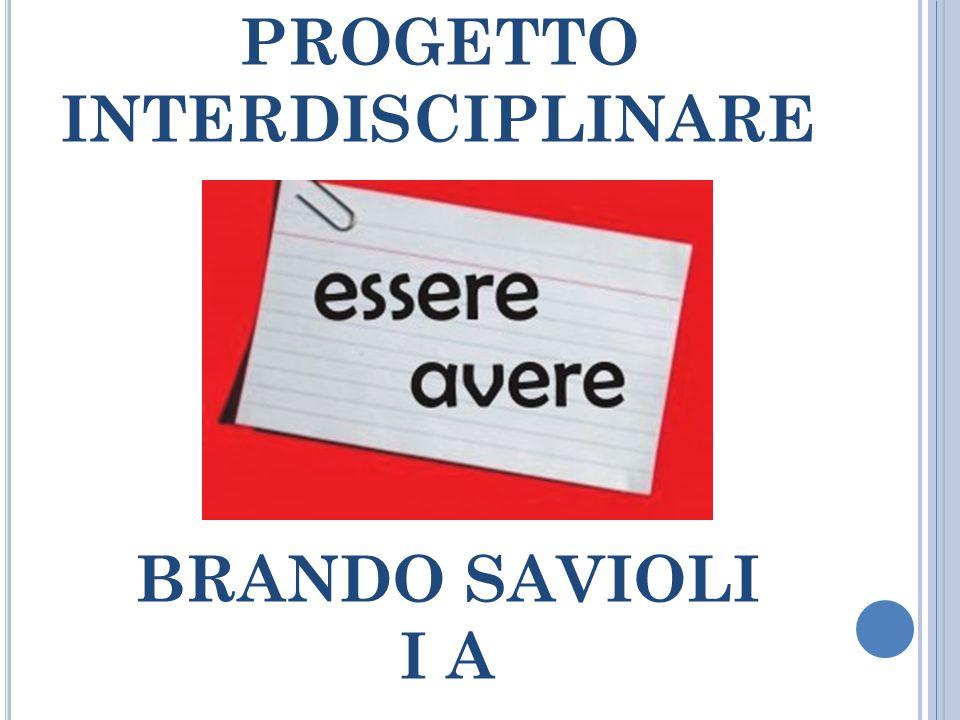 PROGETTO INTERDISCIPLINARE BRANDO SAVIOLI I A