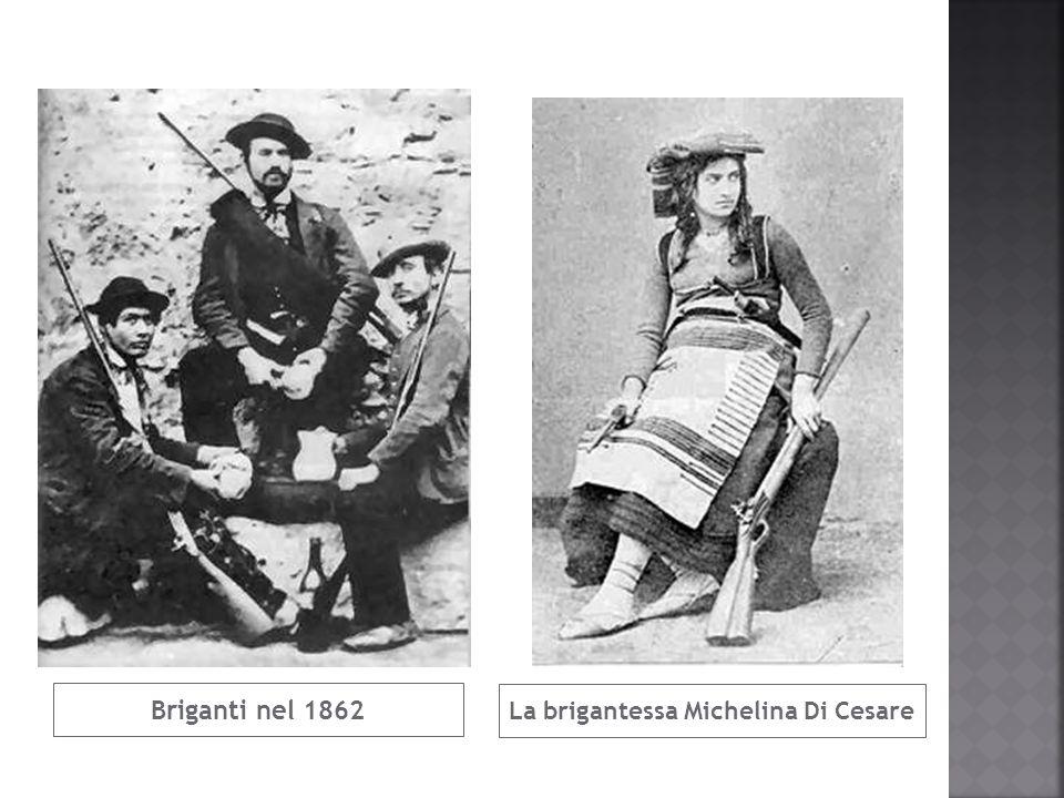 Briganti nel 1862 La brigantessa Michelina Di Cesare