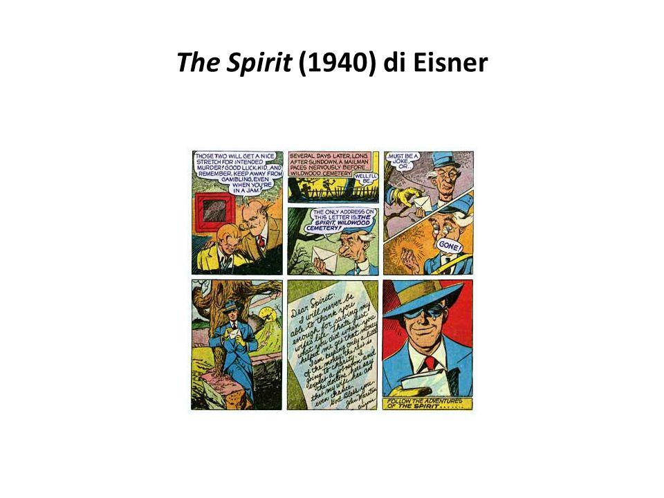 The Spirit (1940) di Eisner