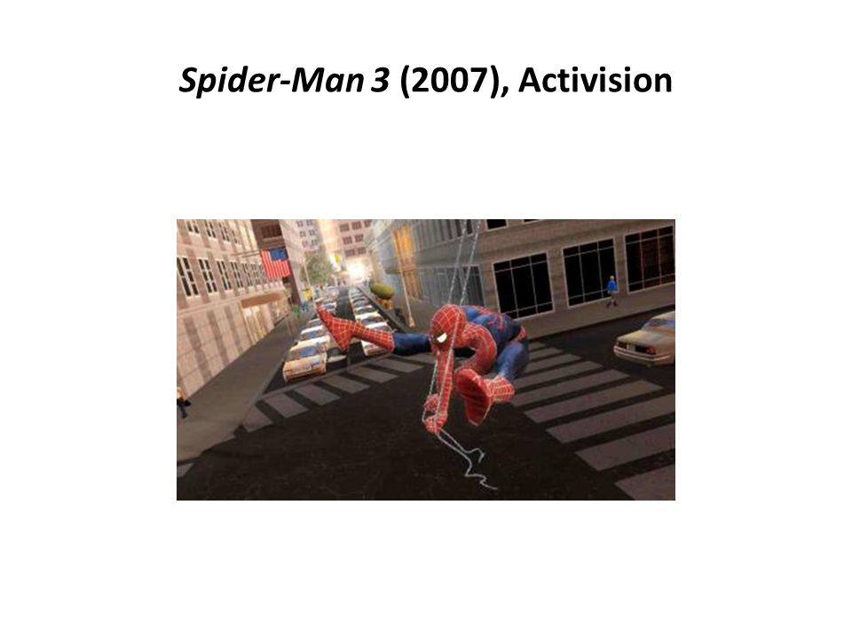 Spider-Man 3 (2007), Activision