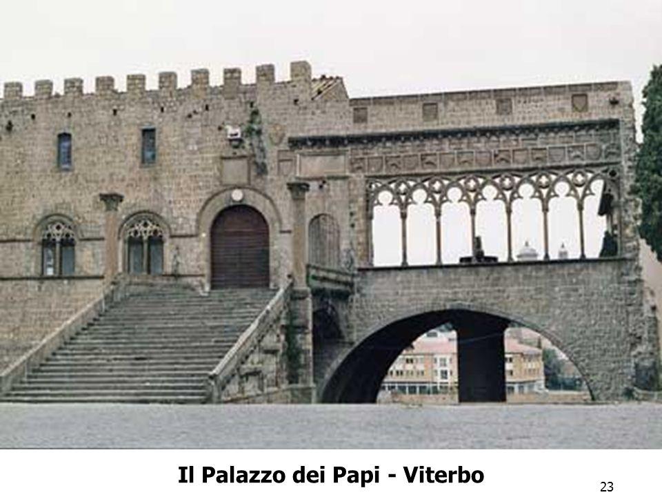 23 Il Palazzo dei Papi - Viterbo