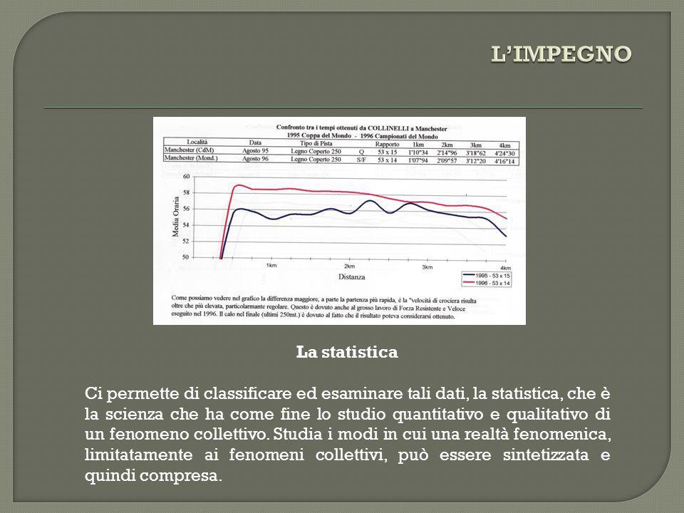 La statistica Ci permette di classificare ed esaminare tali dati, la statistica, che è la scienza che ha come fine lo studio quantitativo e qualitativ