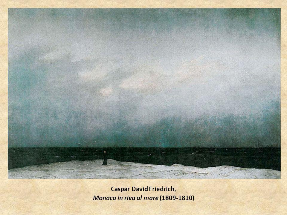 Caspar David Friedrich, Monaco in riva al mare (1809-1810)