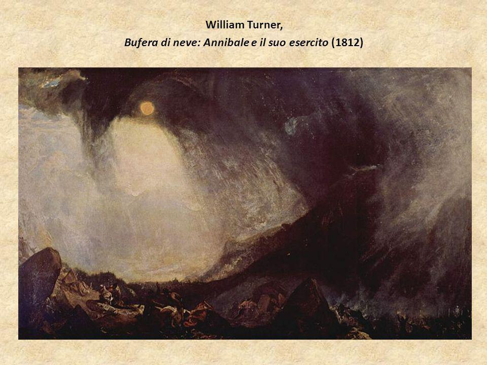 William Turner, Bufera di neve: Annibale e il suo esercito (1812)
