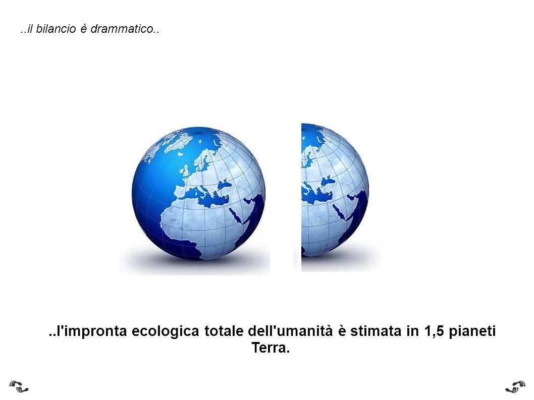 ..the budget is dramatic....humanity s total ecological footprint is estimated at 1.5 planet Earths.