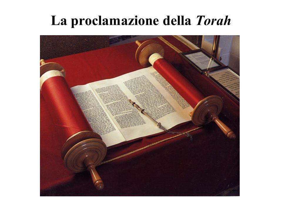 La Torah (Insegnamento divino rivelato al Sinai) È la Ketubbah, il patto di nozze , fra Dio e il suo popolo Chagall, Il dono della Torah al Sinai Faremo e ascolteremo (Es 24,7) è l'impegno assunto al Sinai
